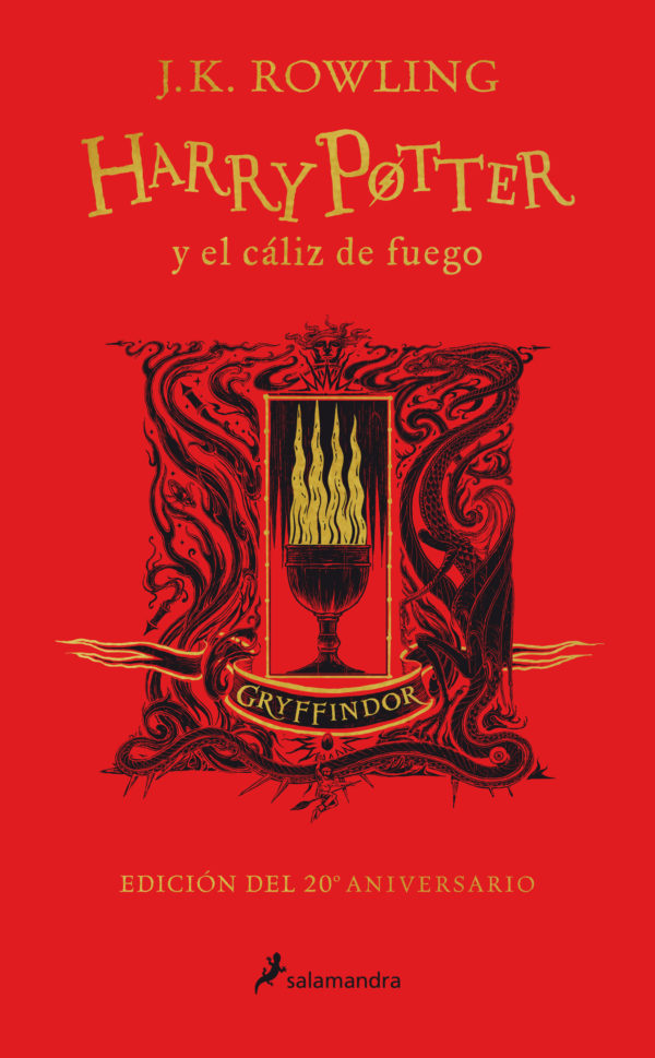 HP4-CALIZ DE FUEGO (TD)(20ANIV.GRY)(CS)