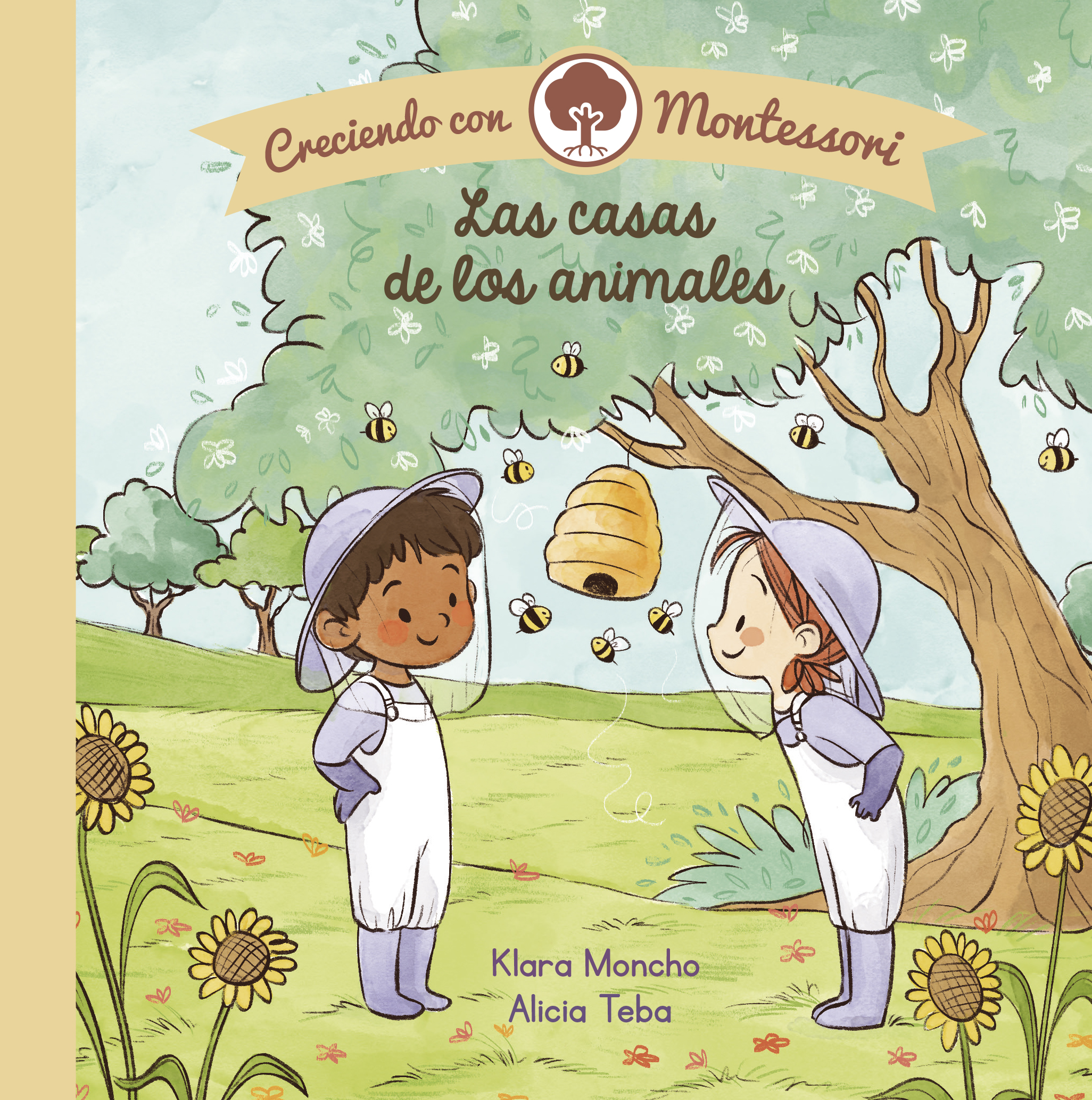 Creciendo Montessori: La Casa de los Animales - Klara Moncho/Alicia