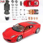 1:24 Ferrari F430 - Kit De Montaje Enmetal Diecast Maisto