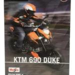 Ktm 690 Duke - Kit De Montaje 1/12 Metal Die Cast