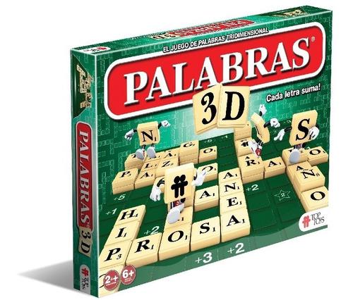 Palabras 3d Especial - Juego De Mesa Top Toys