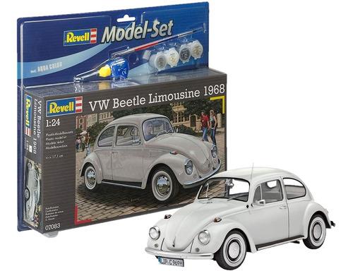 Vw Beetle Limousine 1:24 Model Set - Revell