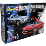 Mercedes-benz Gullwing 1:24 Gift Set - Revell