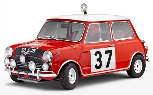 Minicooper Winner Rally Monte Carlo 1964 - 1:24 Gift Set