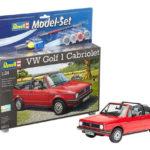 Vw Golf 1 Cabriolet 1:24 - Model Set De Revell